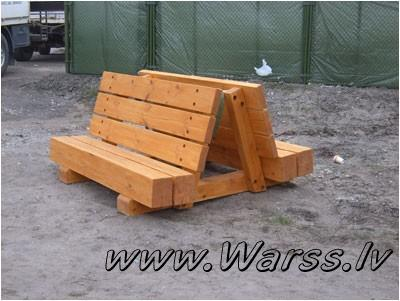 Strand-stil dobbel spisestue 487.00 EUR – GuļbÅ«ves projekti, pirtis ...